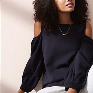 Lou & Grey Cold Shoulder Sweatshirt